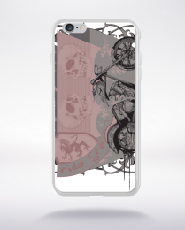 Coque follow the wind rules compatible iphone 6 transparent
