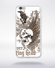 Coque forever resting head compatible iphone 6 transparent