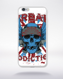 Coque freak addiction compatible iphone 6 transparent