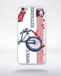 Coque freeride bike compatible iphone 6 transparent