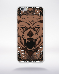 Coque giant wolf compatible iphone 6 transparent