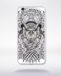 Coque horned owl compatible iphone 6 transparent