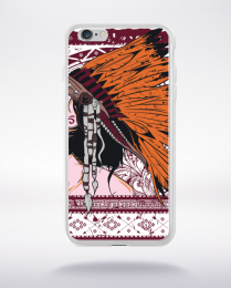 Coque indian girl compatible iphone 6 transparent