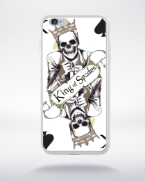Coque king of spades compatible iphone 6 transparent