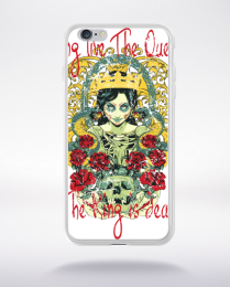 Coque long live the queen compatible iphone 6 transparent