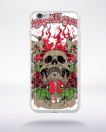 Coque laugh till you cry compatible iphone 6 transparent
