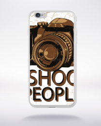 Coque i shoot people compatible iphone 6 transparent