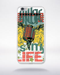 Coque music its my life compatible iphone 6 transparent
