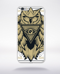 Coque owl pyramid compatible iphone 6 transparent