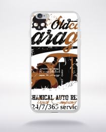 Coque old car garage compatible iphone 6 transparent