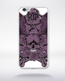 Coque rest in peace compatible iphone 6 transparent