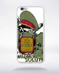 Coque russian solution compatible iphone 6 transparent