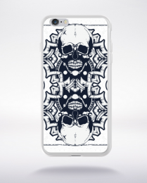 Coque skull card compatible iphone 6 transparent