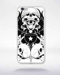 Coque skull potion compatible iphone 6 transparent