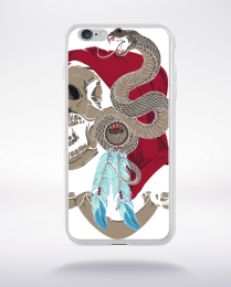 Coque snake master compatible iphone 6 transparent