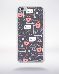 Coque pattern 22 compatible iphone 6 transparent