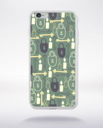 Coque pattern 23 compatible iphone 6 transparent