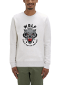 Le sweat shirt homme creme chine gris wolf