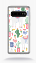 Coque very friendly pattern 19 compatible samsung  s10+ bord noir