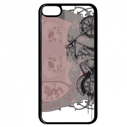 Coque follow the wind rules compatible ipod touch 6 bord noir