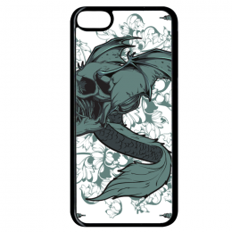 Coque flying snake compatible ipod touch 6 bord noir