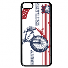 Coque freeride bike compatible ipod touch 6 bord noir