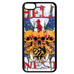Coque hell nest compatible ipod touch 6 bord noir