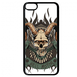 Coque hell motor compatible ipod touch 6 bord noir