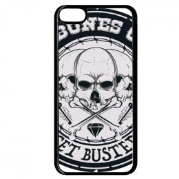 Coque get busted compatible ipod touch 6 bord noir